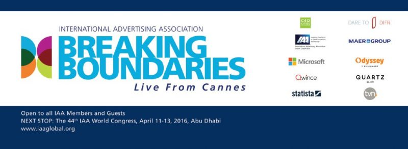 "Neuralya @ Cannes Lions 2015 ""Breaking Boundaries"""